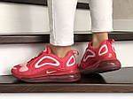 Жіночі кросівки Nike Air Max 720 (червоно-білий) 8949, фото 4