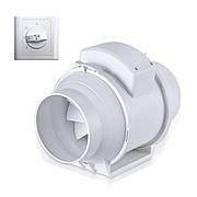 Вентилятор канальный круглый Турбовент ПВК 100
