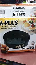 Набір форм для випічки торта A-Plus 6 штук 1129 з вуглецевої сталі
