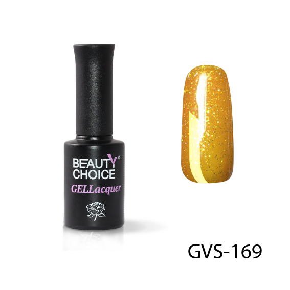 Гель-лак з мерехтінням. GVS-(151-170) 169