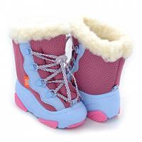 Детские зимние дутики Demar Snow Mar розовые