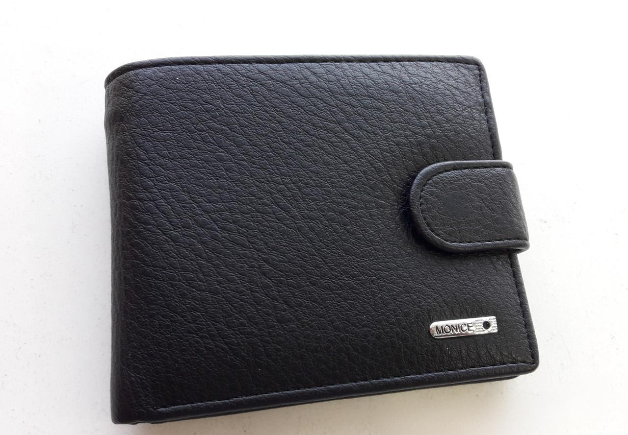 Чоловіче портмоне з штучної шкіри Balisa LY-F005-67 чорний Купити портмоне оптом недорого Одеса 7 км