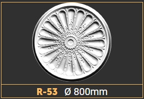 Розетка потолочная R53 (800 мм.)
