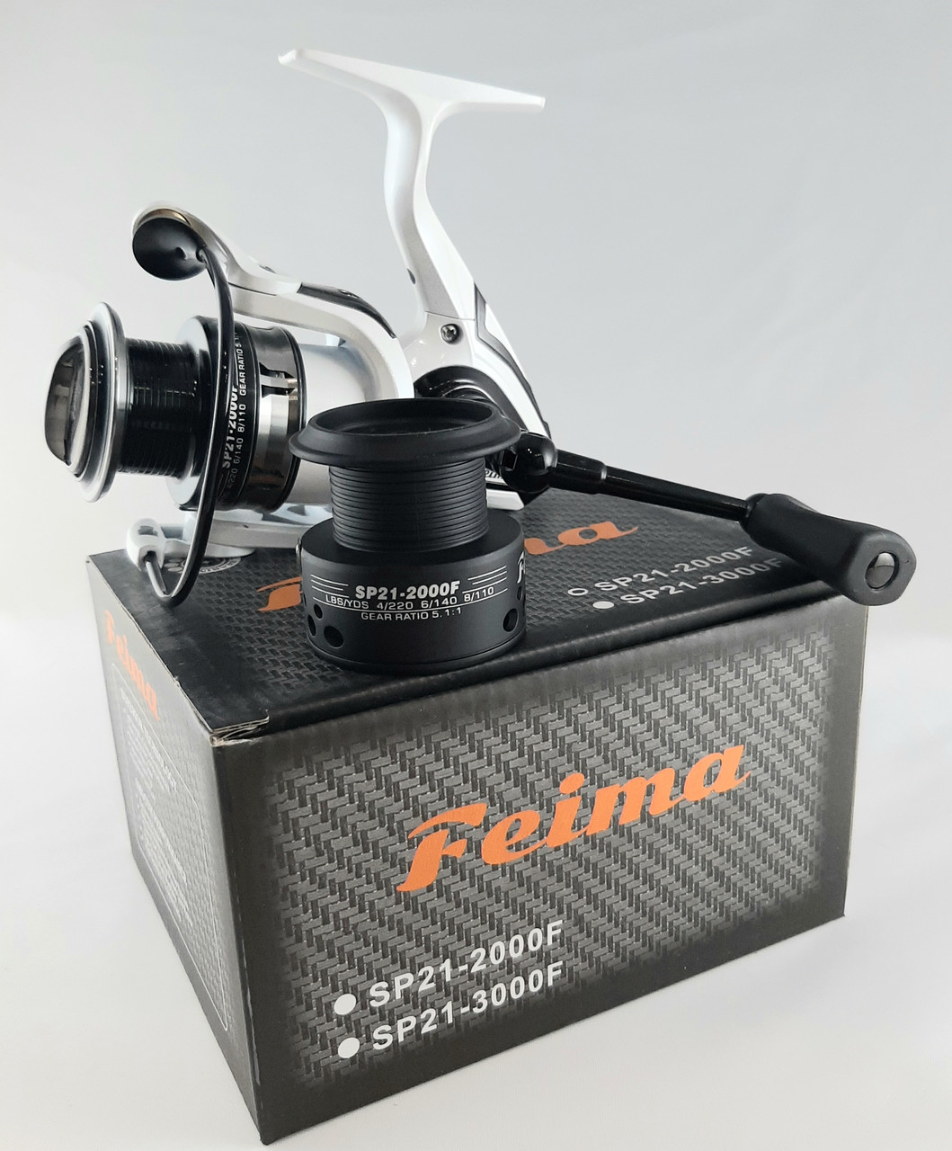 Спиннинговая катушка  Feima SP21 2000F
