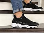 Мужские кроссовки Nike Huarache Fragment Design (черно-белые) 8950, фото 2