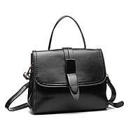 Классическая женская кожаная сумка на плечо, фото 1