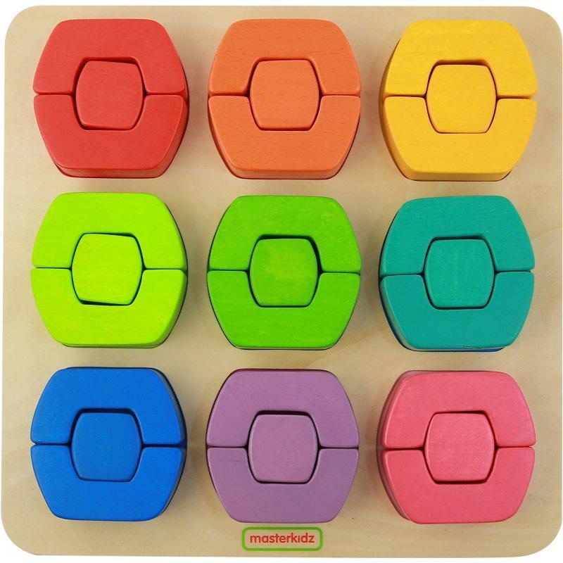 """Игровой набор """"Цветные блоки"""" Masterkidz MK12623"""