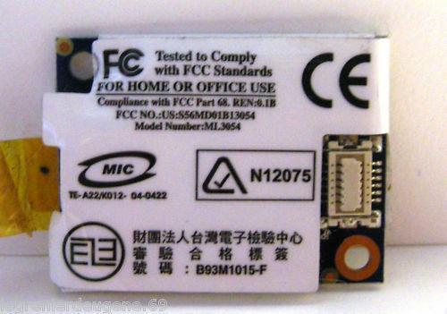 Модем B93M1015-F ML3054