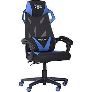 Кресло VR Racer Radical Garrus черный/синий TM AMF