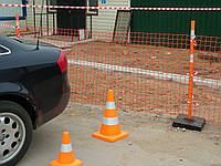 Аварийное ограждение Barrier net 100 г/м2 (1м*30м, яч.26*90мм) оранж.
