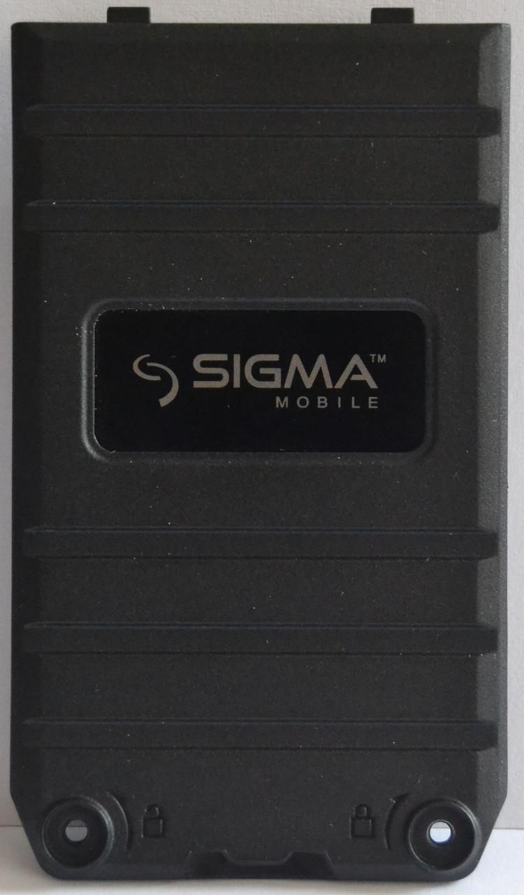 Задняя Панель Корпуса (Крышка) для Sigma X-treme DT68 (Черный)