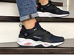 Мужские кроссовки Nike Huarache Fragment Design (темно-синие с белым) 8951, фото 3