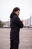 Мужской костюм черный демисезонный Softshell Intruder. Куртка мужская черная, фото 5