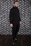 Спортивный костюм Spirited Hot Intruder черный - утепленный флисом, фото 2