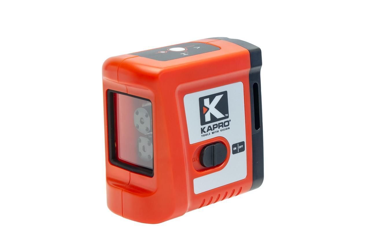 Лазерный уровень Kapro 862, позволяет строить горизонтальную и вертикальную плоскости.