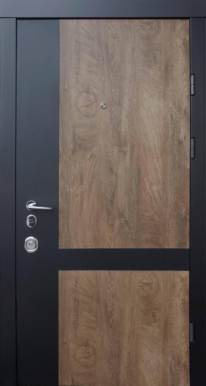 Двери квартирные, QDoors, модель Франк-М, комплектация Авангард,замок MOTTURA