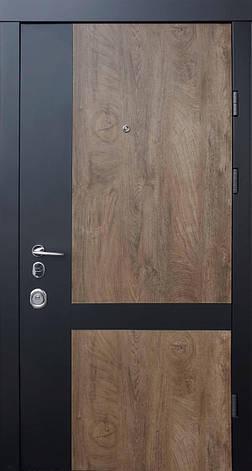 Двери квартирные, QDoors, модель Франк-М, комплектация Авангард,замок MOTTURA, фото 2