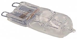Лампа галогенова термостійка G9 +300°C (40W / 230V) для пекарських печей і піца-печей