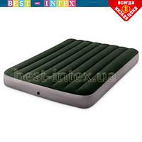 Полутороспальный надувной матрас Intex 64108 (137 x 191 x 25 см) Prestige Downy Airbed
