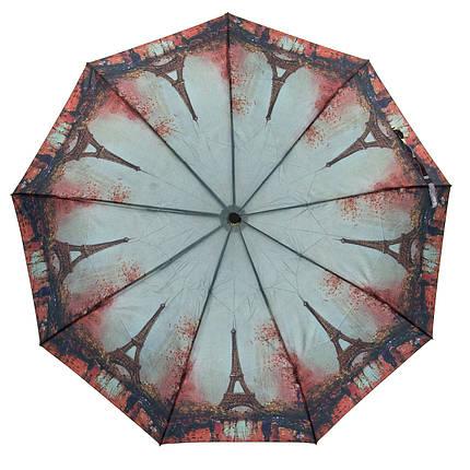 Зонт Полуавтомат Женский полиэстер 18092-1, фото 2