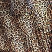 Леопардовое боди под горло с митенками, фото 5