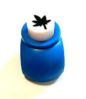 Дырокол фигурный для детского творчества JF-822, листок., фото 1