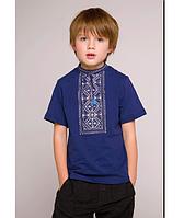 Р-р 92-152, Детская  футболка вышиванка, Вишиванка для хлопчика 92