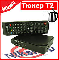 TV тюнер Т2 приемник для цифрового ТВ Operasky OP-407  + электрочайник в подарок!