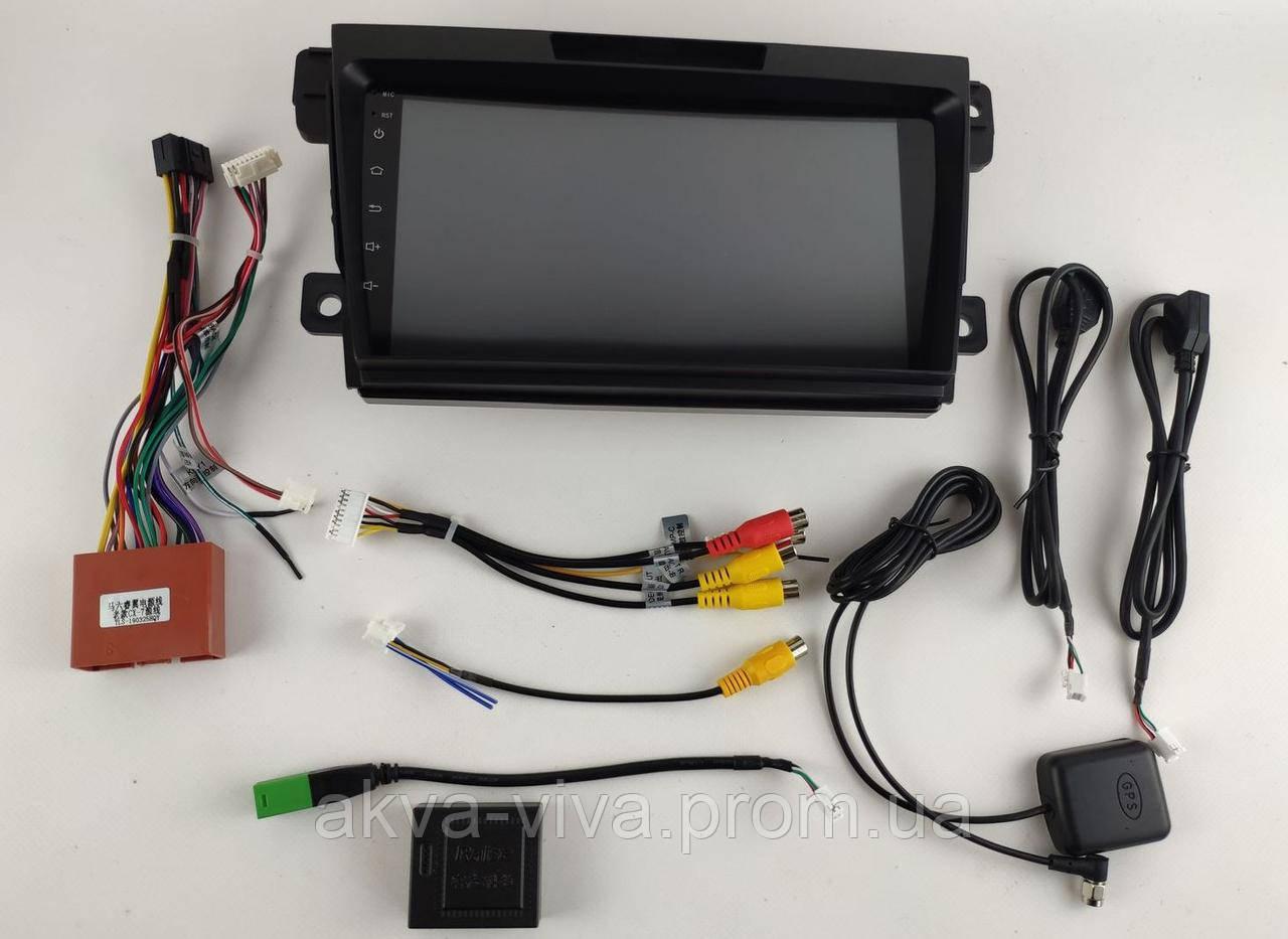 Штатная автомагнитола Mazda CX-7 2010-2014 на Android с хорошей звуковой настройкой (М-Мз-9)