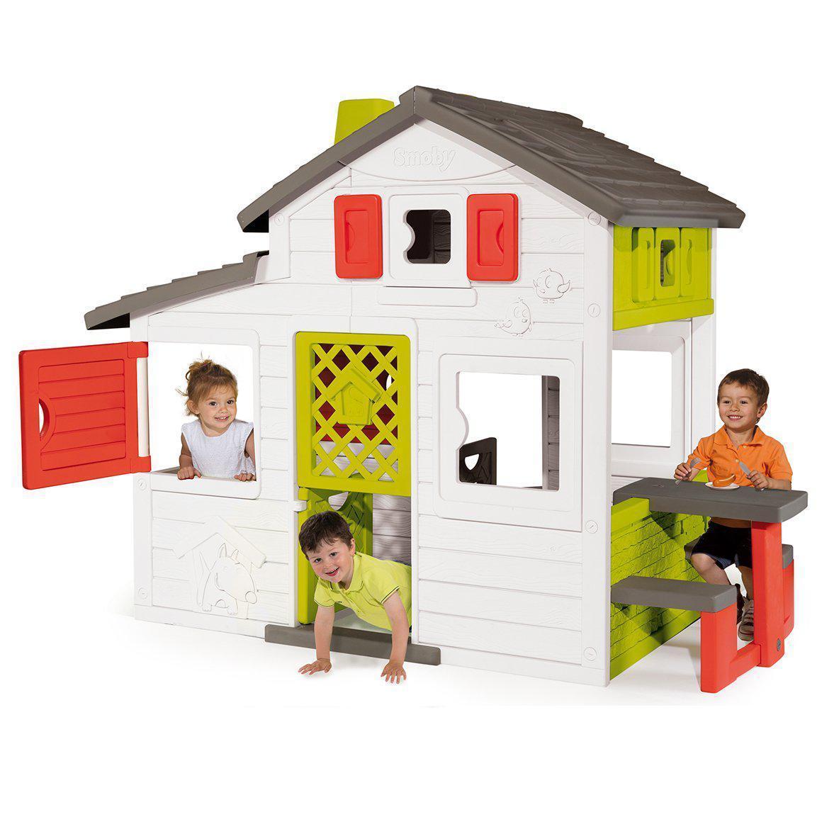 Детский игровой домик с кухней и столиком Smoby 810200 для детей