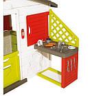 Детский игровой домик с кухней и столиком Smoby 810200 для детей, фото 3