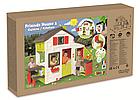 Детский игровой домик с кухней и столиком Smoby 810200 для детей, фото 8