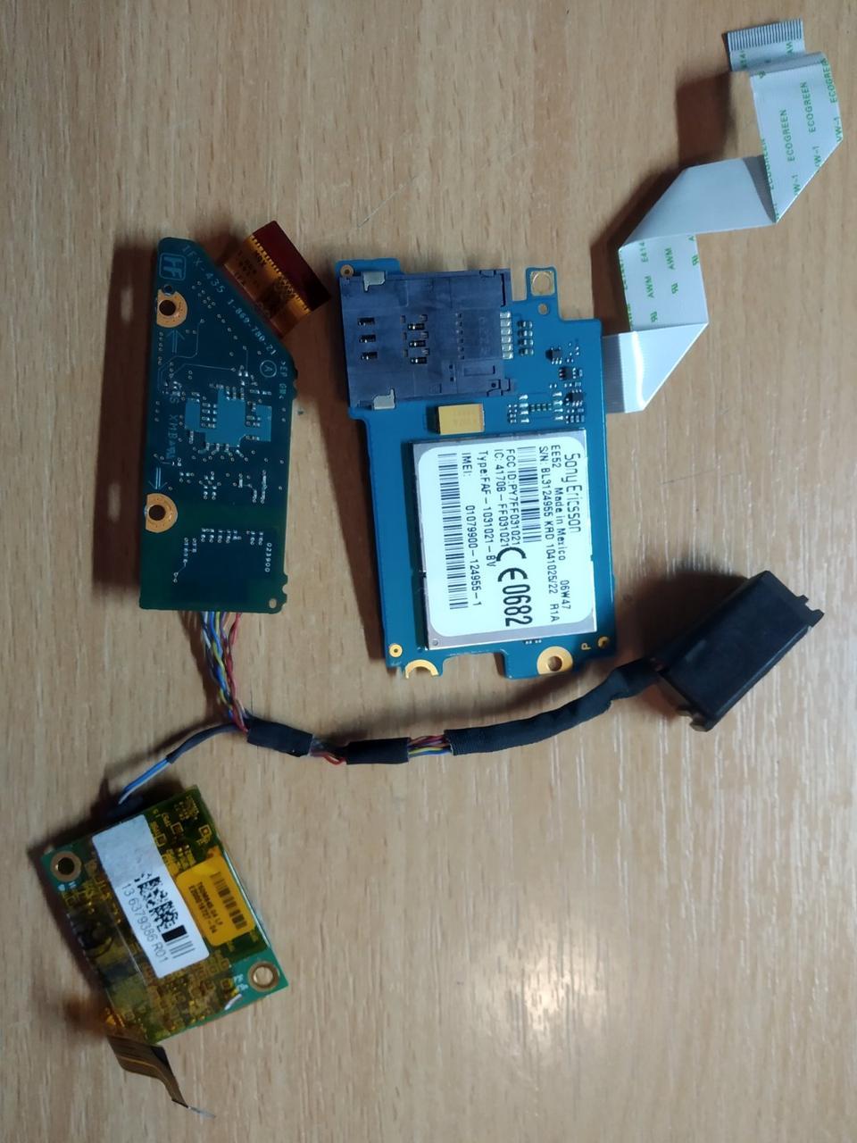 Модуль связи Sony Ericsson SIM Wifi модуль Sony Vaio VGN-SZ330P TVK1179227, 4170B-FF031021, FAF-1031021-BV