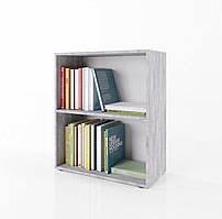 Стеллаж для дома, полка для книг из ДСП на 2 ячейки (4 ЦВЕТА) 600x780x300 мм Возможны Ваши размеры