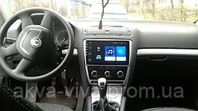 Штатная автомагнитола для Skoda Octavia 2007-2014 на ANDROID 8.1