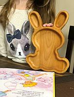 """Детская Тарелка """"Кролик"""", фото 1"""