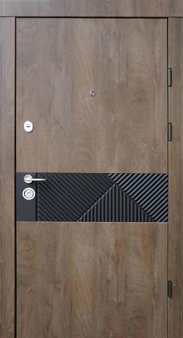 Двері квартирні, QDoors, модель Сопрано-М, комплектація Ультра,замки Securemme(Італія)