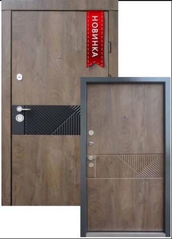 Двері квартирні, QDoors, модель Сопрано-М, комплектація Ультра,замки Securemme(Італія), фото 2