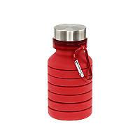 Складная силиконовая бутылка, 550 мл, фото 1