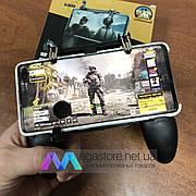 Игровой геймпад для смартфона Mobile Game Controller W11 джойстик контроллер для телефона с триггерами для игр
