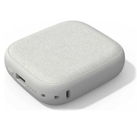 Внешний аккумулятор с беспроводной зарядкой Xiaomi Solove Power Bank W5 10000 mAh Wireless Charging Silver