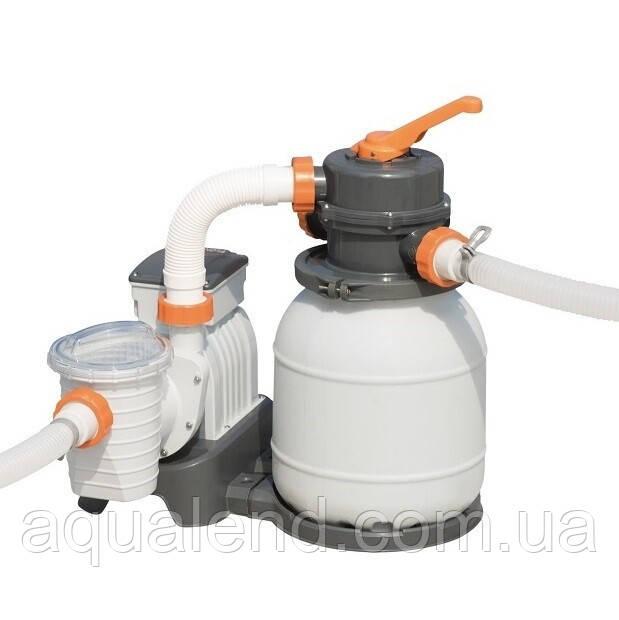 Пісочний фільтр для басейну Bestway Flowclear 58495, 3.785 м3/год