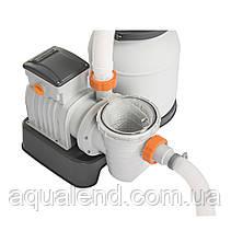 Пісочний фільтр для басейну Bestway Flowclear 58495, 3.785 м3/год, фото 2