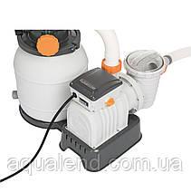 Фильтр песочный для бассейна Bestway Flowclear 58495, 3.785 м3/ч, фото 3