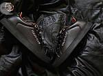 Мужские кроссовки Philipp Plein (черные) 075PL, фото 4