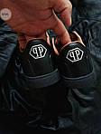 Мужские кроссовки Philipp Plein (черные) 075PL, фото 7