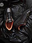 Мужские кроссовки Philipp Plein (черные) 075PL, фото 6