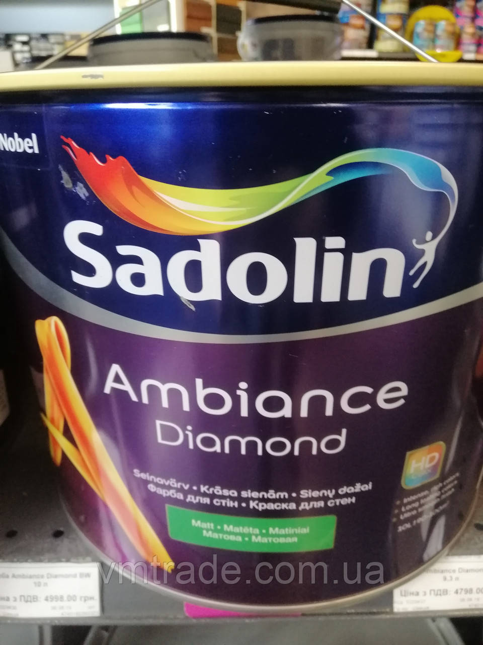 Краска с HD эффектом SADOLIN Ambience Diamond, 10л