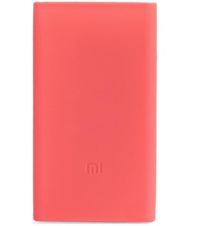 Чехол Xiaomi Mi Power Bank 2C 20000mAh Silicone Protective Case Pink