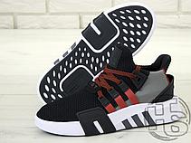 Мужские кроссовки Adidas EQT Basketball Black/White/Red BD7777, фото 2
